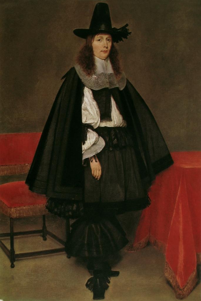 Man in rhingrave, Gerard Terborch