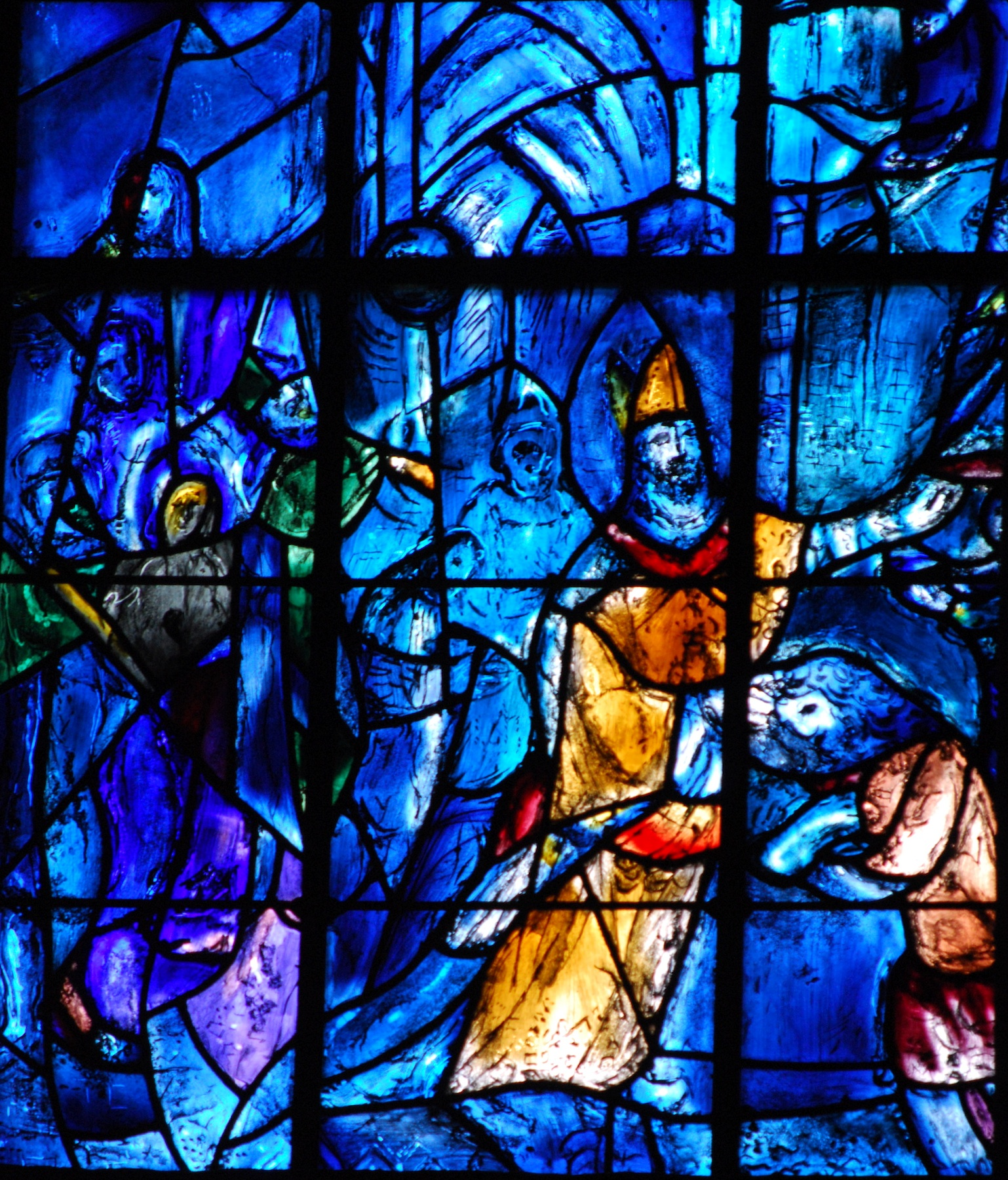 Nieuwe ramen voor de kathedraal van Reims | Wel heb je ooit! Chagall Glas In Lood