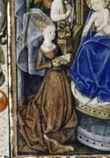 Getijdenboek Yolanthe van Lalaing (detail)