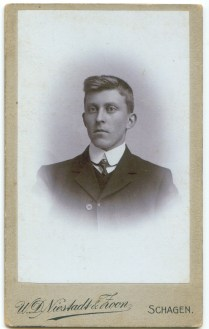 Rients van der Zee in 1908.